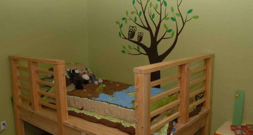 Treehouse Kids Bed Low Tree House Cabin Fun