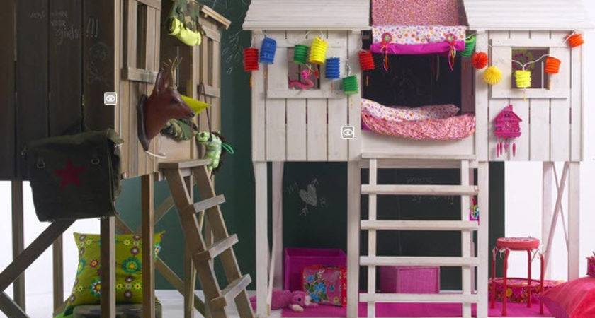 Treehouse Loft Bed Bunk Playhouse Style