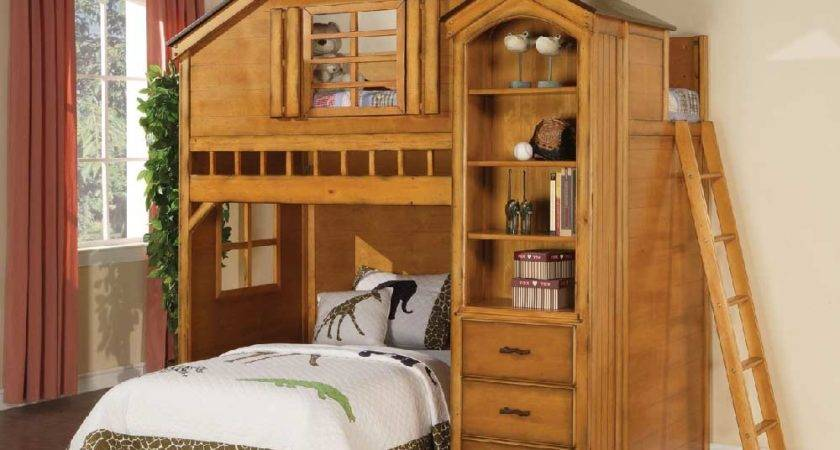 Treehouse Twin Loft Bed Kids Furniture Los Angeles