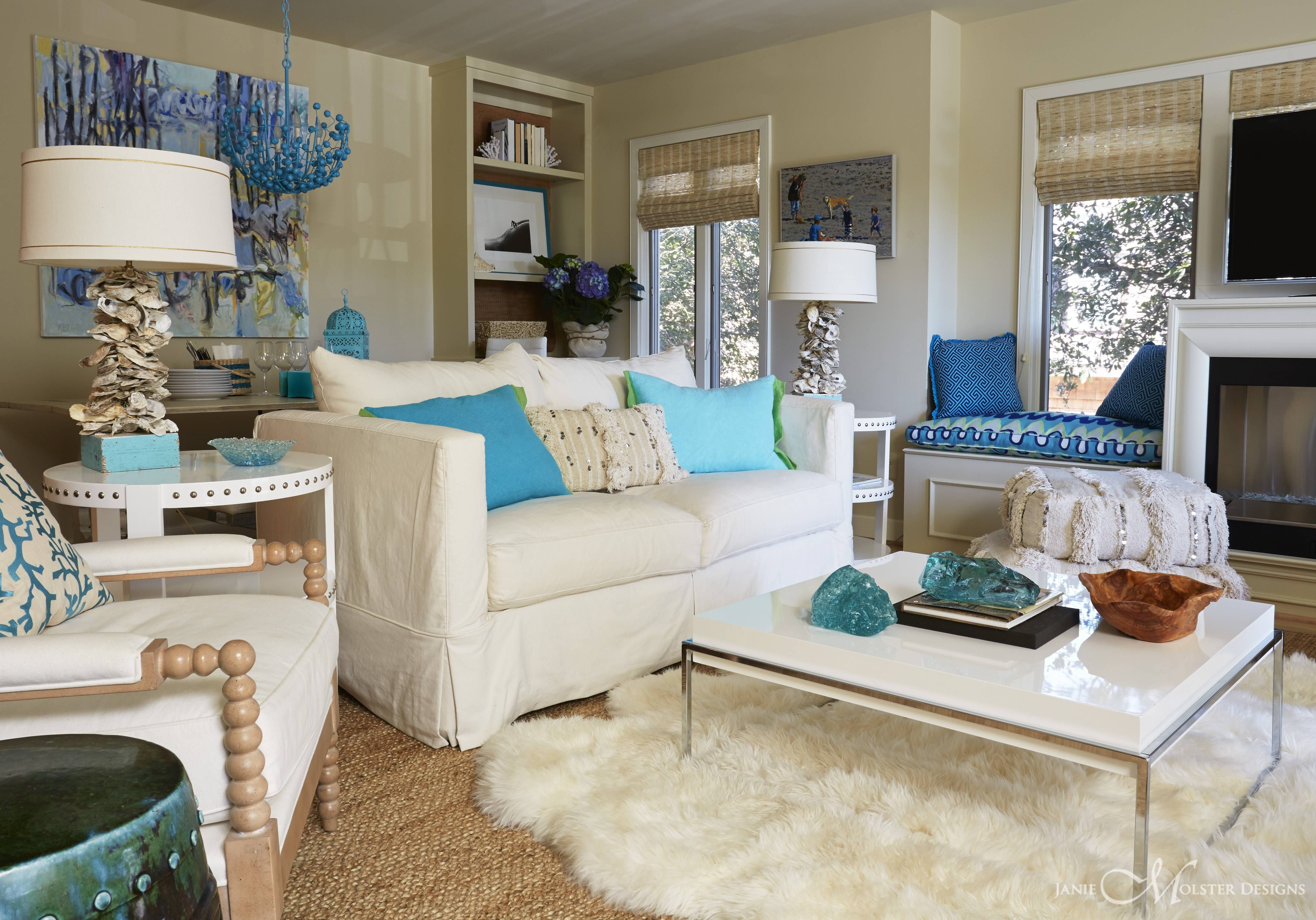 Trend Teal Cream Living Room Ideas Dark Red - Barb Homes
