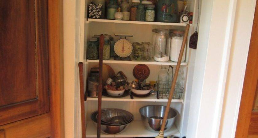 Trendy Neutral Wooden Narrow Kitchen Pantry Cabinet