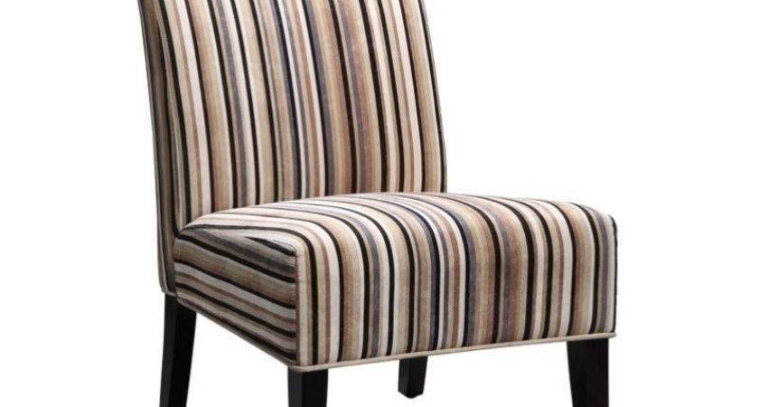 Trent Home Lifestyle Fabric Accent Slipper Chair Multi