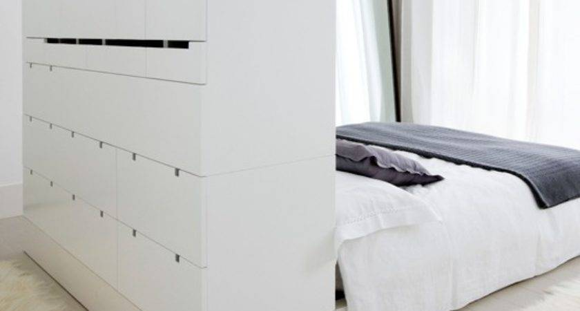 Turn Headboard Into Drawers Storage Solutions
