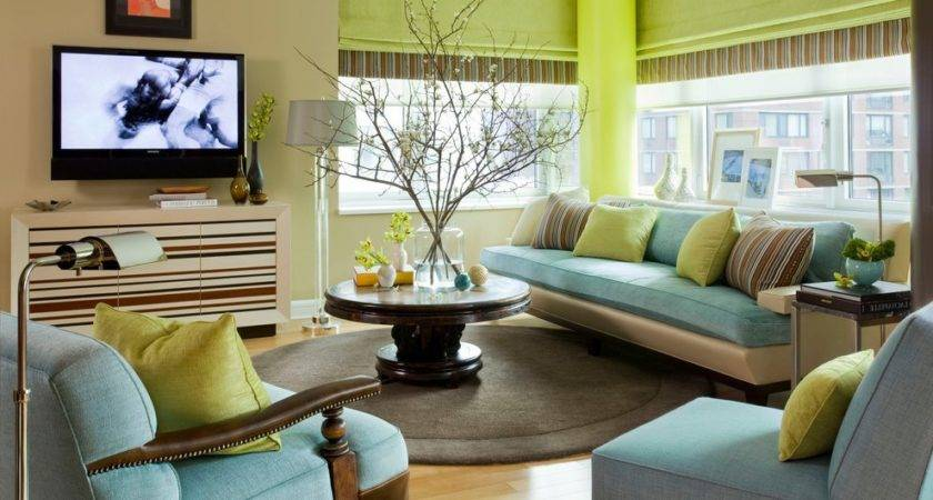 Turquoise Brown Living Room Ideas Home Decorating