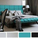 Turquoise Gray Bedroom Fresh Bedrooms Decor Ideas