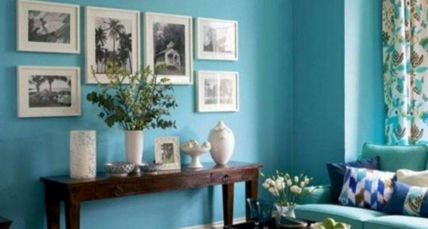 Turquoise Living Room Fashion Trends