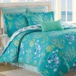 Turquoise Purple Bedding Butterfly