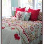 Turquoise Red Bedding Bedroom Galerry