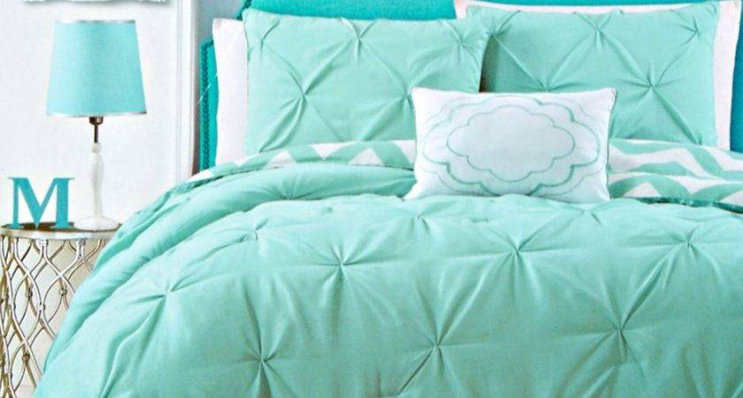 Turquoise Red Bedding Sets Green White