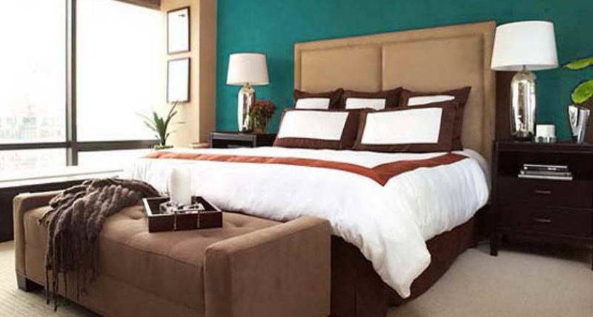 Turquoise Walls Bedroom Home Decorating Ideas