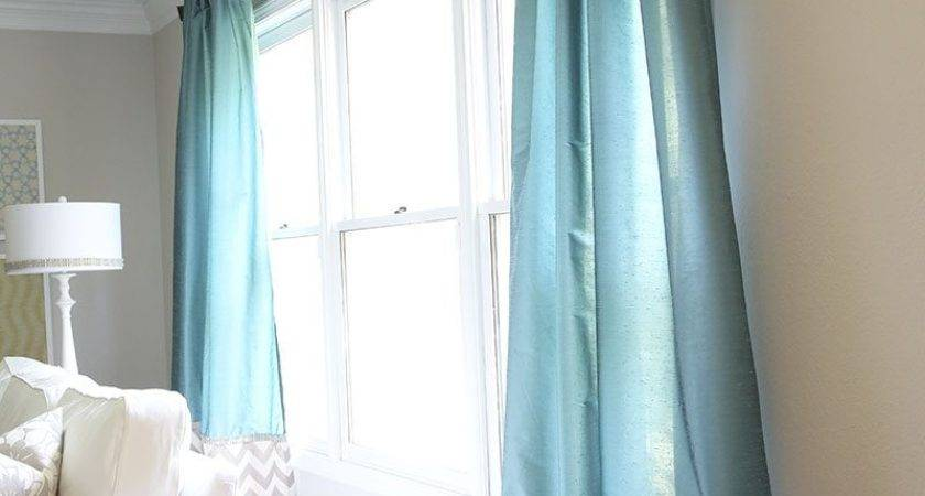 Turquoise White Striped Curtains Curtain Menzilperde