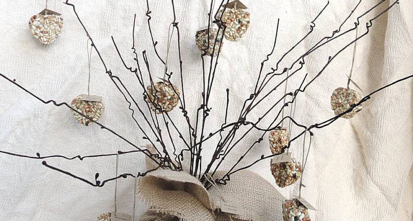 Twig Branch Trees Wedding Table Centerpiece Naturefavors