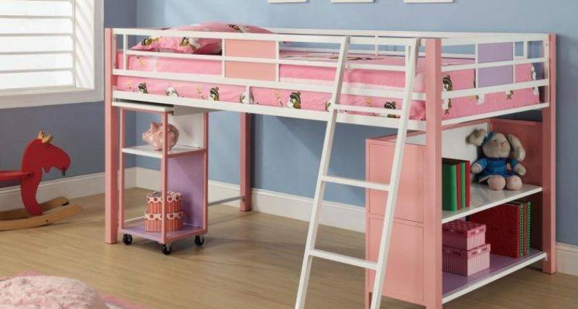 Twin Loft Bed Desk Storage Clever Modern