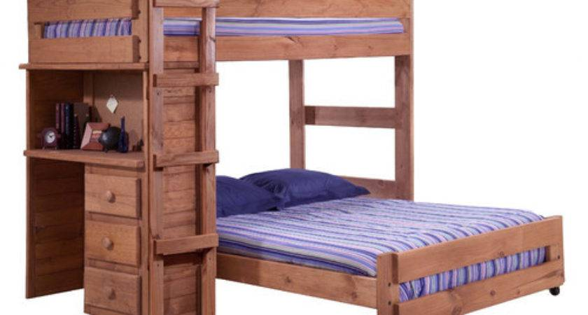 Twin Over Shaped Bunk Bed Desk End Wayfair