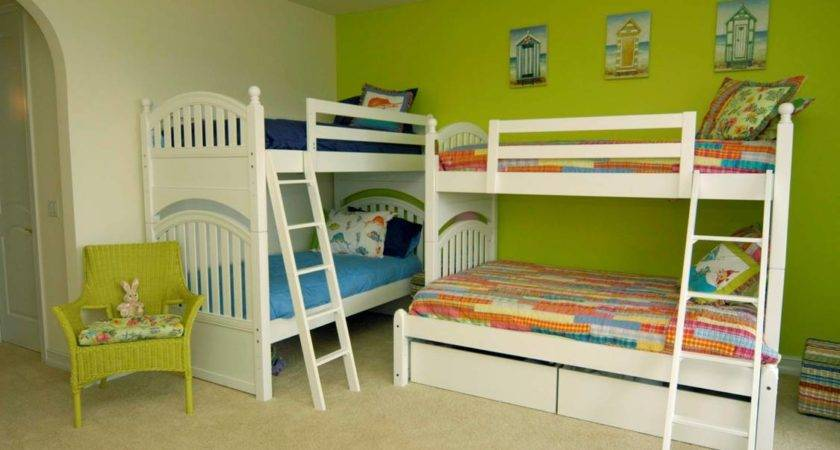 Two Bunk Beds One Room Home Design