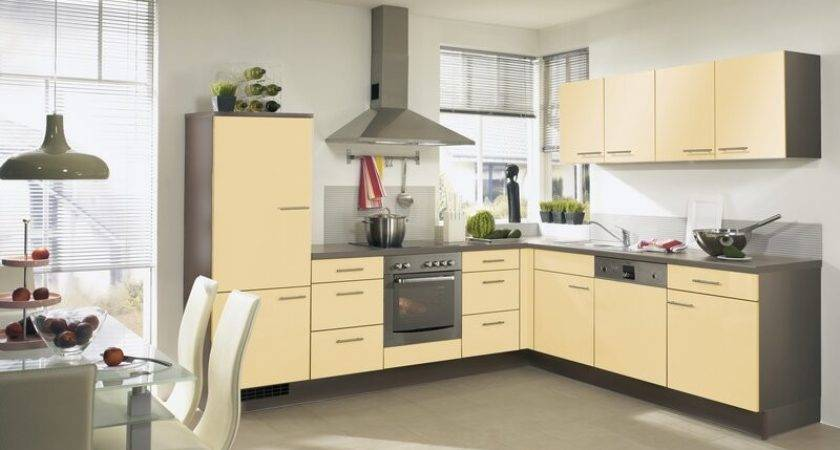 Two Tone Kitchen Cabinets Simple Toned