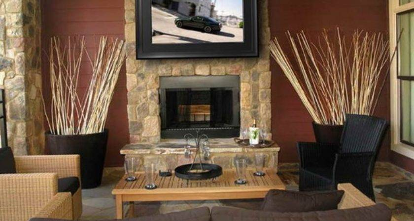 Two Way Fireplace Ideas Home Design