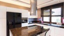 Types Kitchen Countertops Granite Corian Laminate