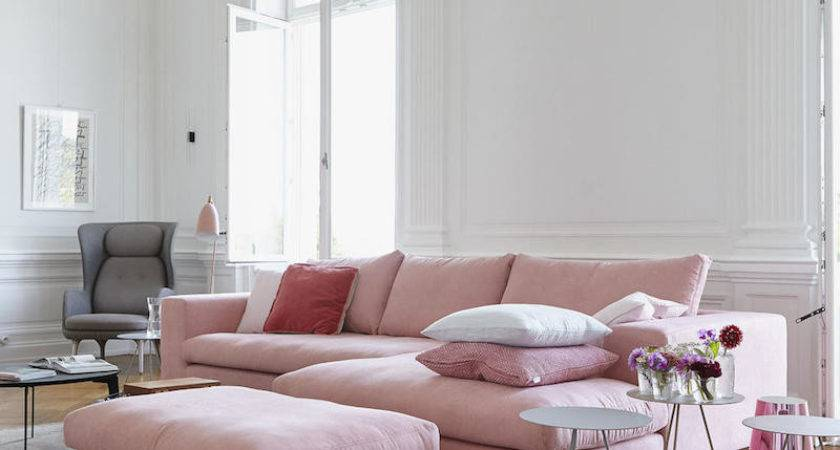Ultra Chic Blush Pink Sofas Style Them