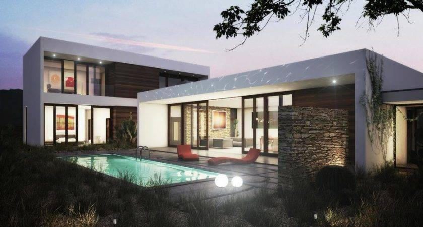 Ultra Modern Contemporary House Plans Design