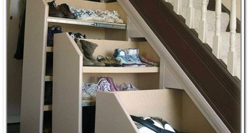 19 Simple Under Stairs Shoe Storage Ideas Ideas Photo Barb Homes