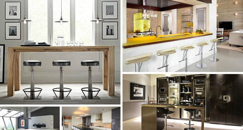 Unforgettable Kitchen Bar Designs