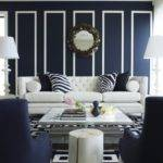 Unique Blue White Living Room Design Ideas Decozilla