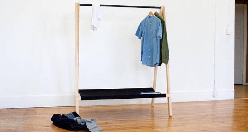 Unique Handmade Clothing Rack Designs Display Your
