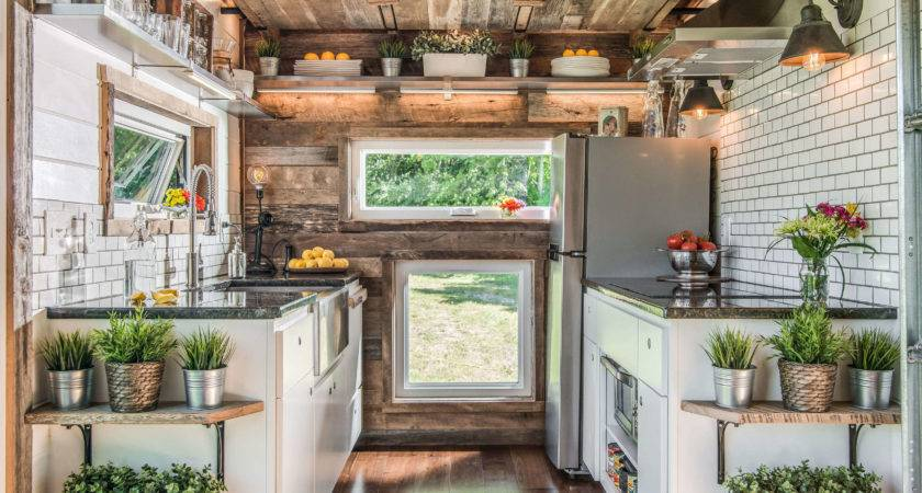 Unique Tiny House Filled Farmhouse Inspired Style