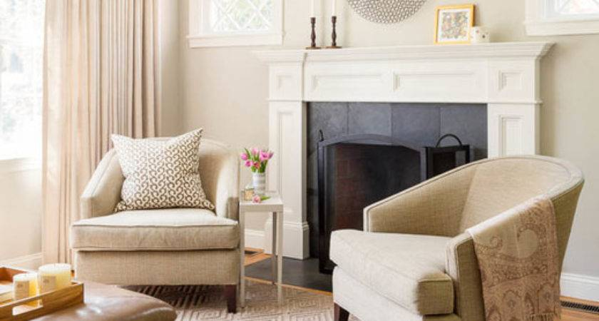 Using Taupe Create Stylish Friendly Living Room