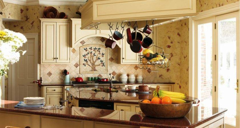 Very Beautiful French Country Kitchens Decorating Ideas