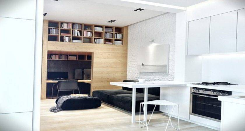 Very Small Compact Kitchen Apartment