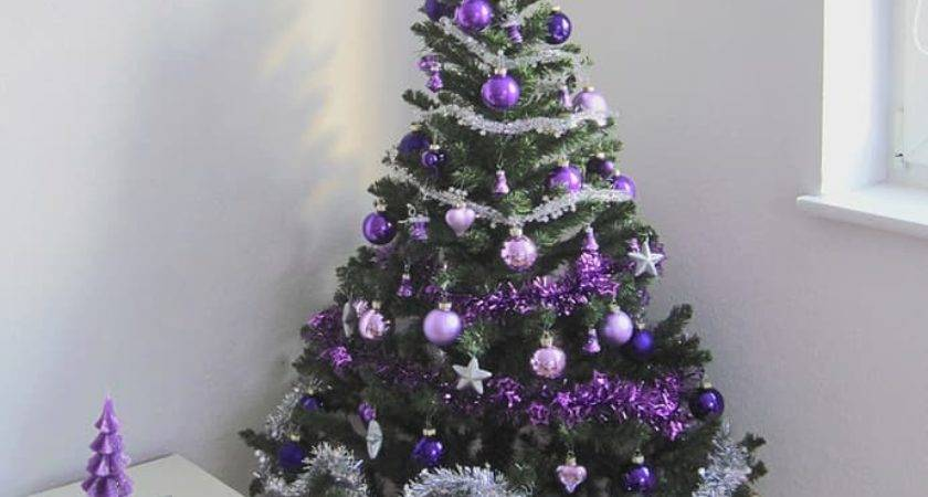 Vibrant Purple Christmas Decorations