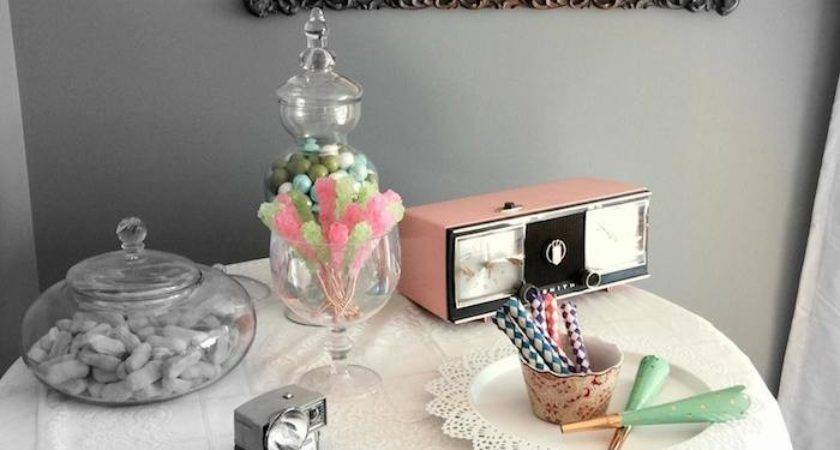 Vintage Birthday Party Cute Ideas Via Kara