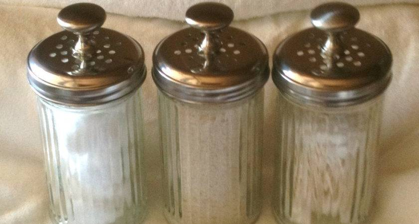 Vintage Vanity Jars Bathroom Kitchen Bedroom