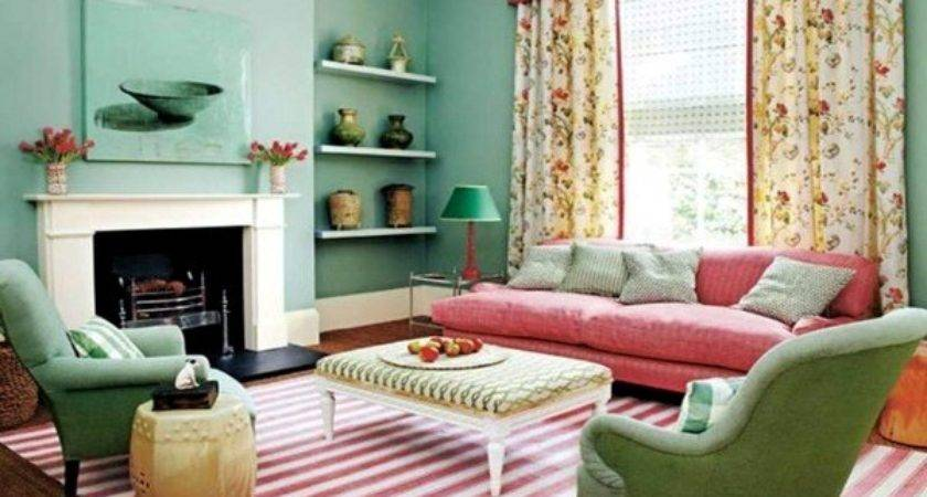 Wall Color Mint Green Gives Your Living Room Magical