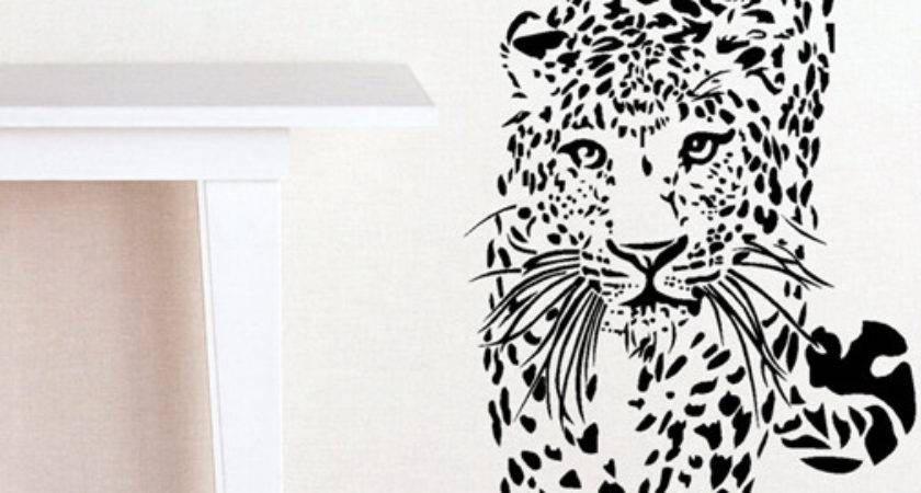 Wall Decal Best Ideas Your Room Cheetah Print