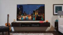 Wall Mounted Stand Entertainment Console Mayan Espresso
