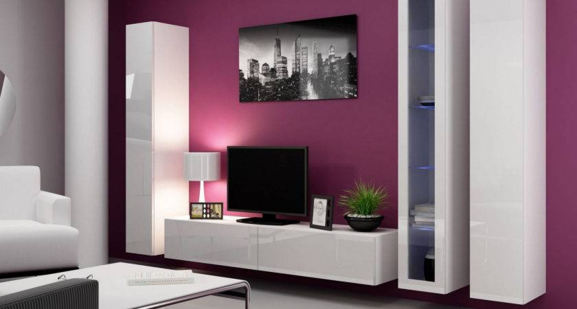 Wall Mounted Units Living Room Home Combo
