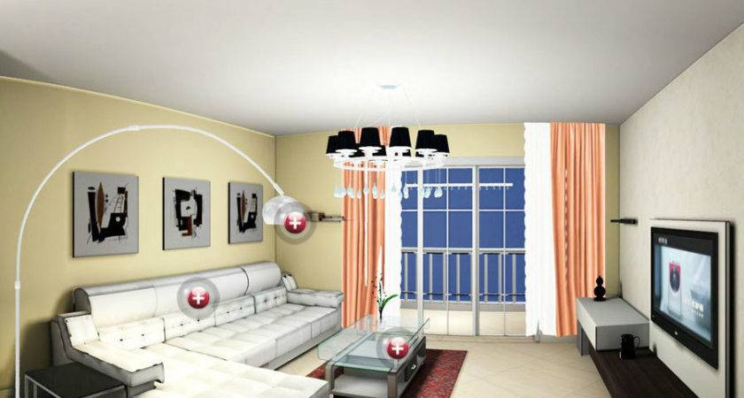 Wall Murals Living Room House