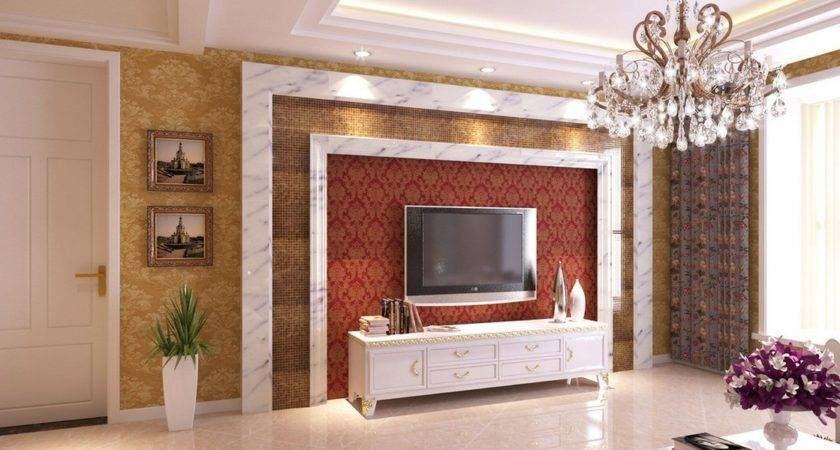 Wall Neo Classical Style Living Room House