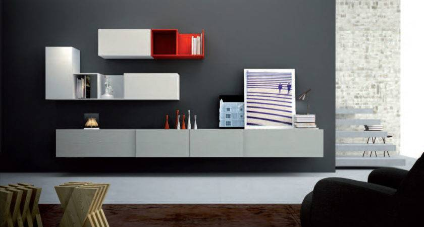 Wall Units Outstanding Shelf Living Rooms