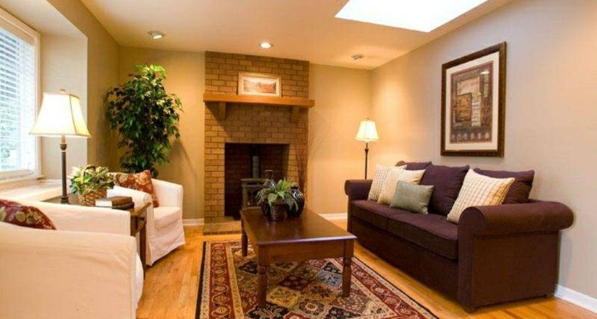 Warm Living Room Colors Modern House