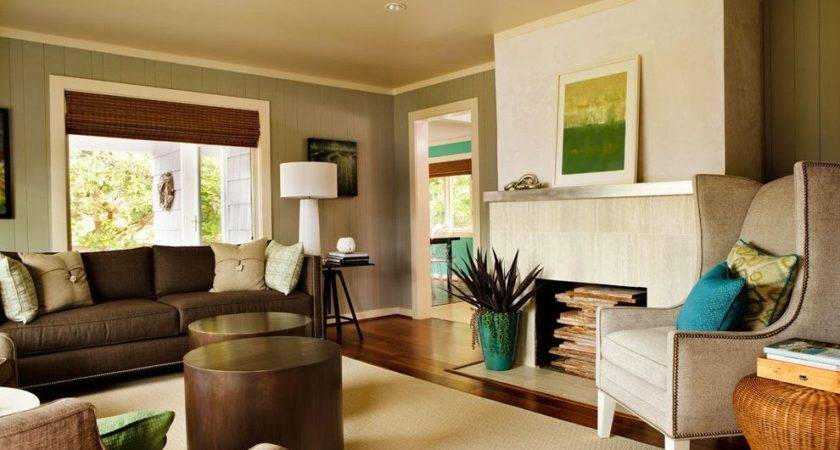 Warm Living Room Paint Colors Home Office Contemporary
