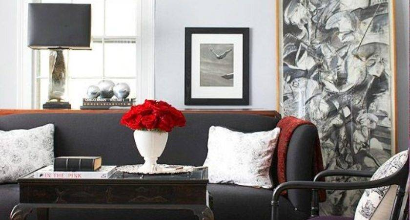 Ways Decorate Around Your Charcoal Sofa Maureen