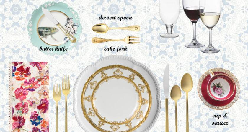 Ways Properly Set Table Banquet King