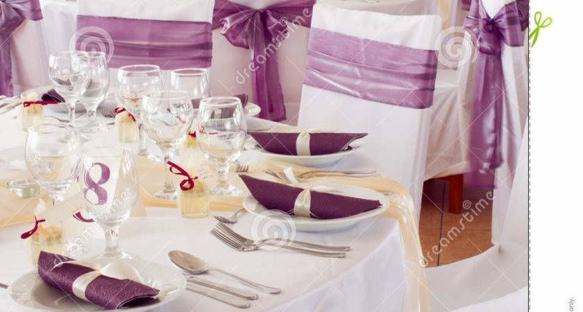 Wedding Tables Set Fine Dining Another Catered