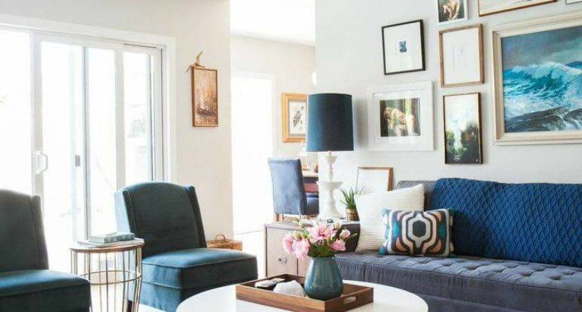 Weekend Makeover Mid Century Eclectic Artist Emily