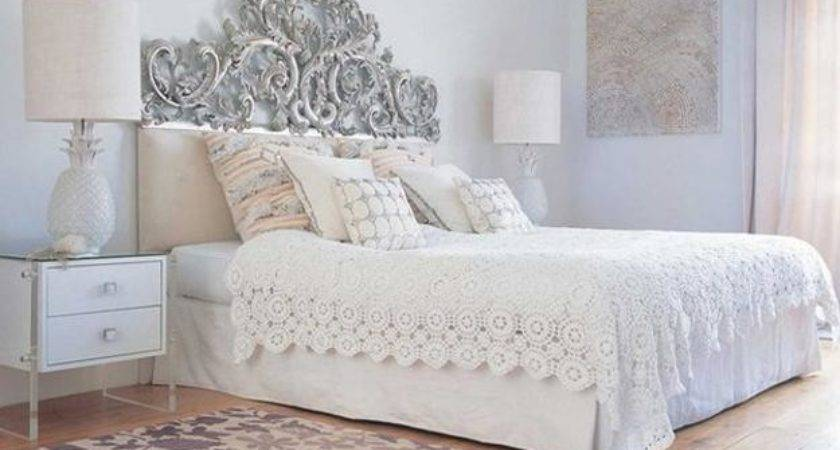 White Bedding Decorating Ideas Personable Modern Living