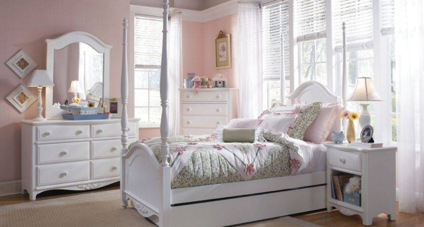 White Bedroom Furniture Girls Decorate House